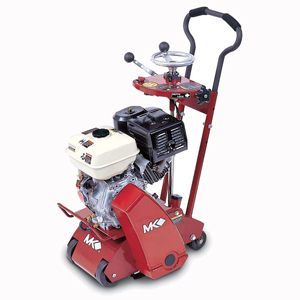 MK-SG-9 Scarifier with 12 Point Steel Blunt Tooth Drum